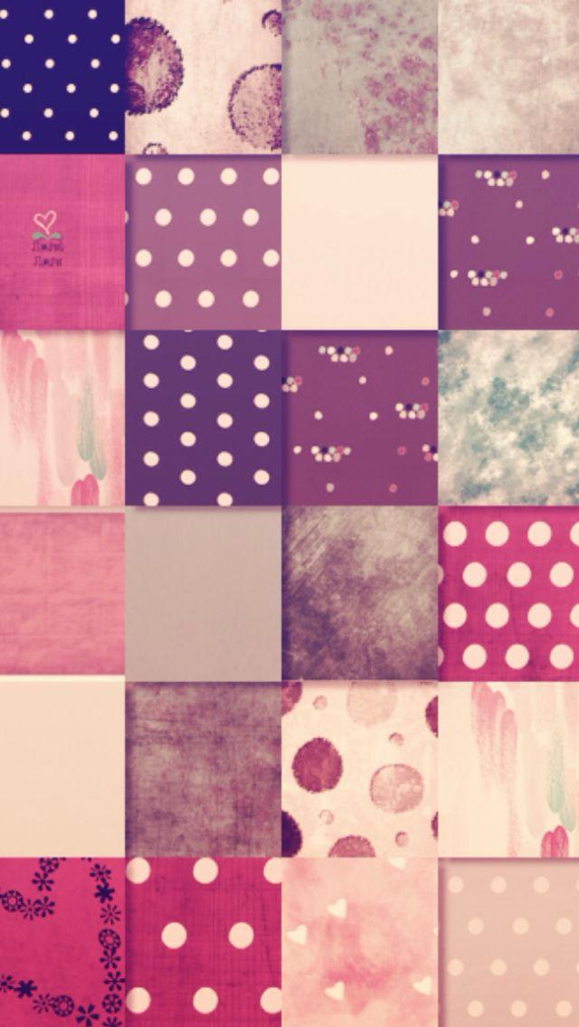 Cute pattern wallpaper Girly wallpapers Pinterest 640x1136