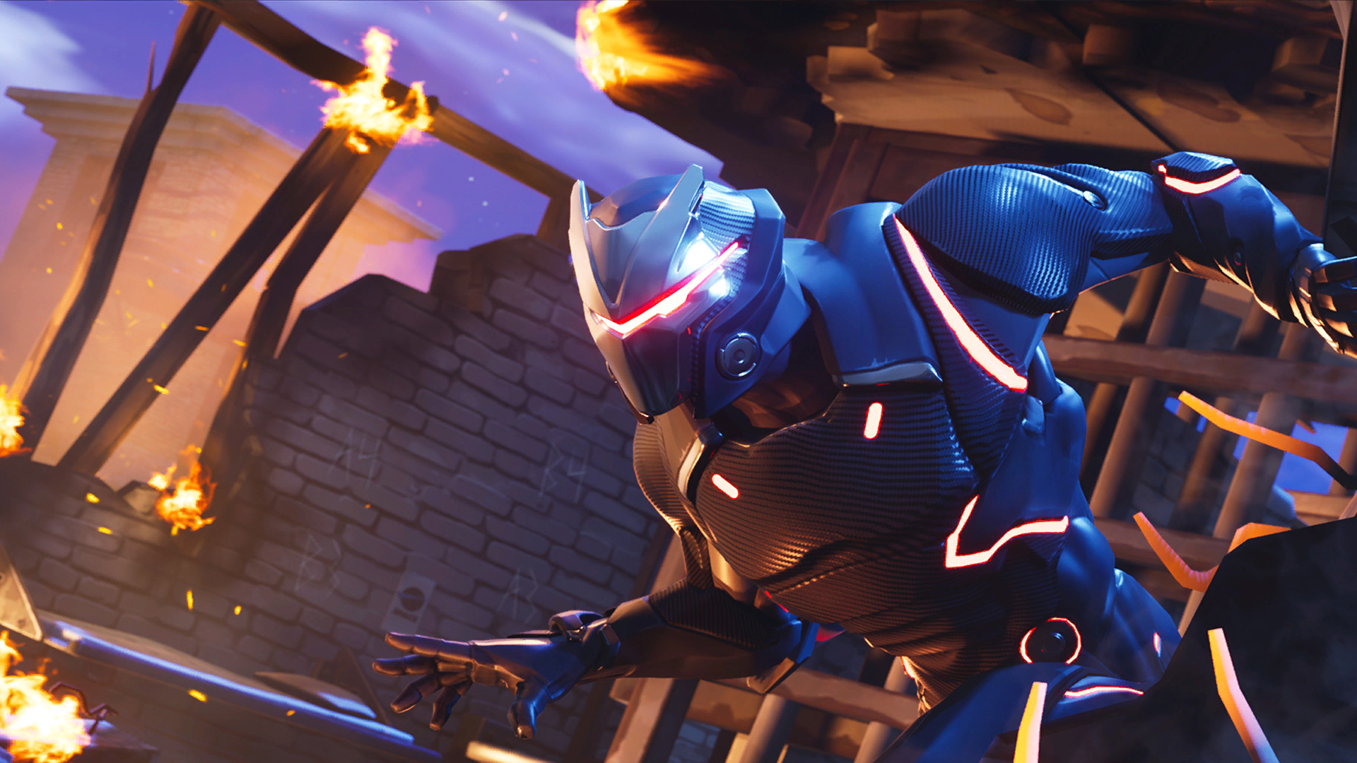 Fortnite Backgrounds Omega 4034 Wallpapers and Stock Photos 1920x1080
