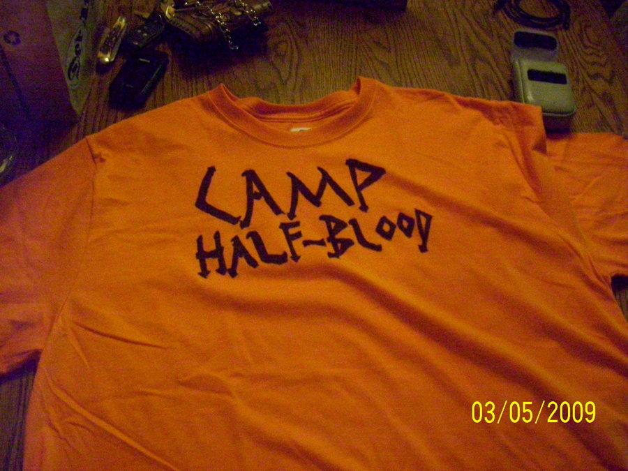 Camp Half Blood shirt by CaptainCasey4 900x675