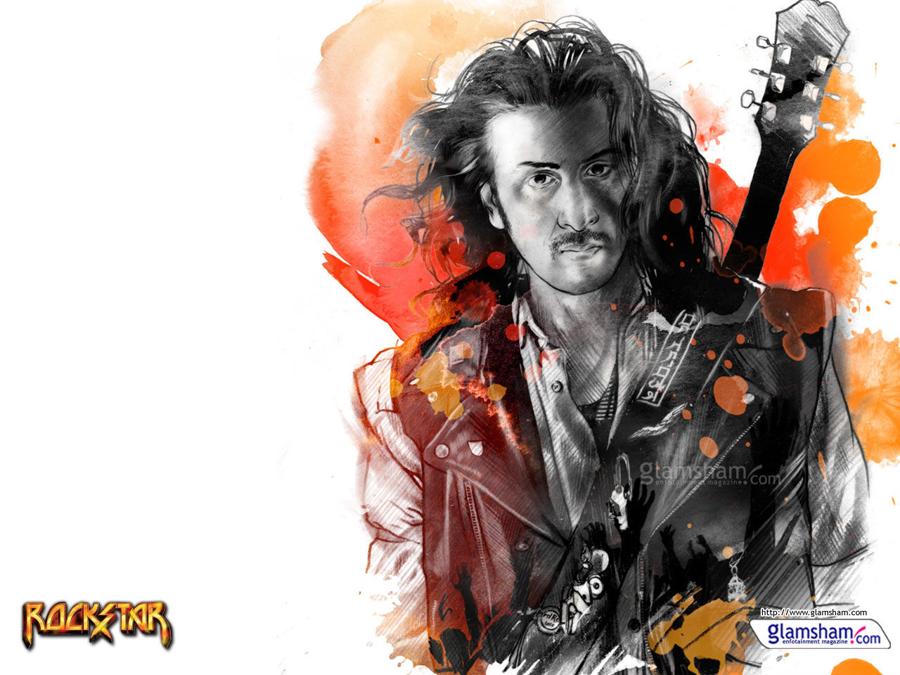 Rockstar movie wallpaper 36443   Glamsham 1280x960