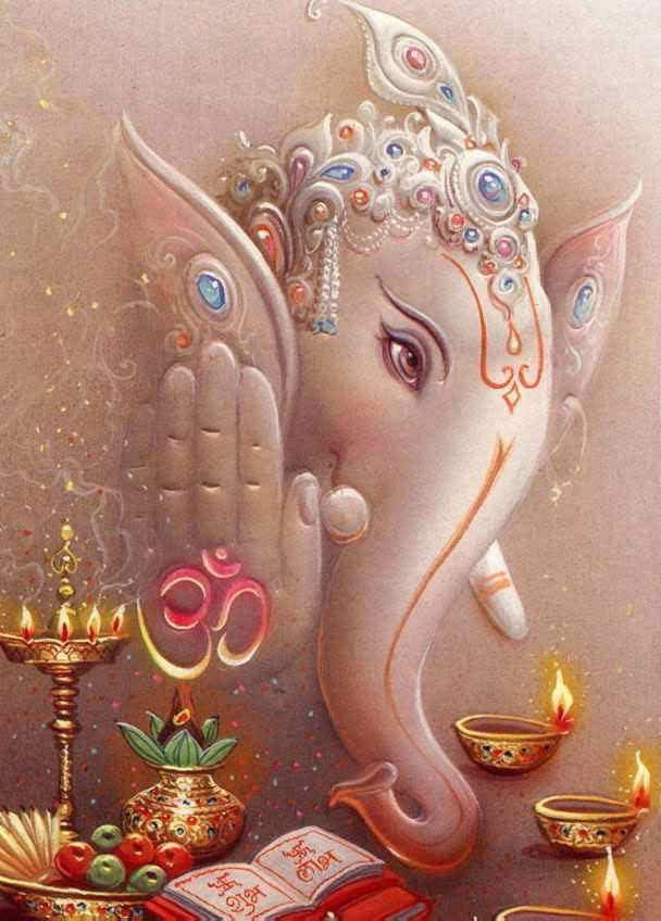 God Photos God Ganesh Beautiful Wallpapers 608x848