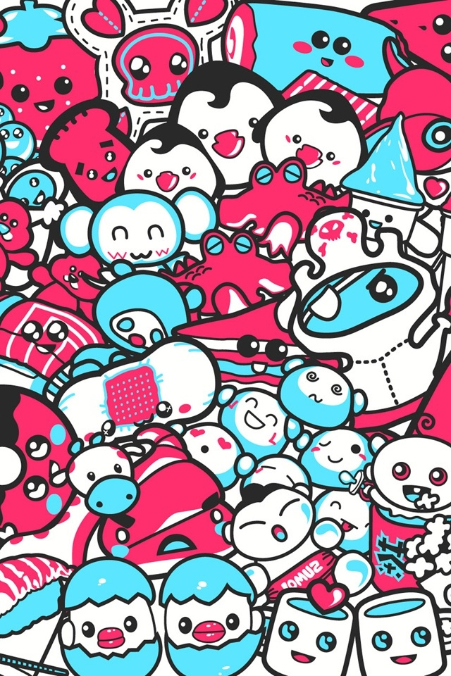 Cute kawaii wallpaper for iphone wallpapersafari - Kawaii wallpaper hd ...