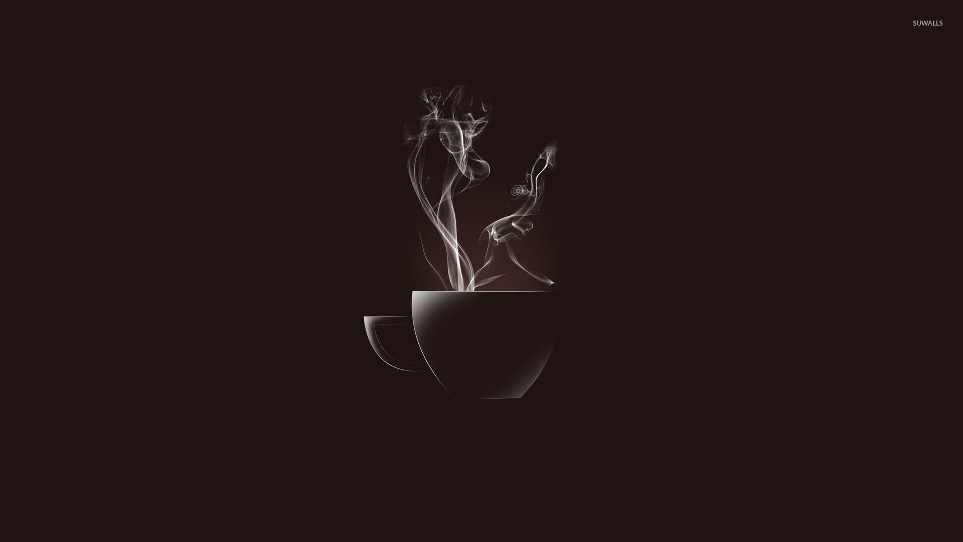 Hot coffee cup wallpaper   Minimalistic wallpapers   53505 1920x1080