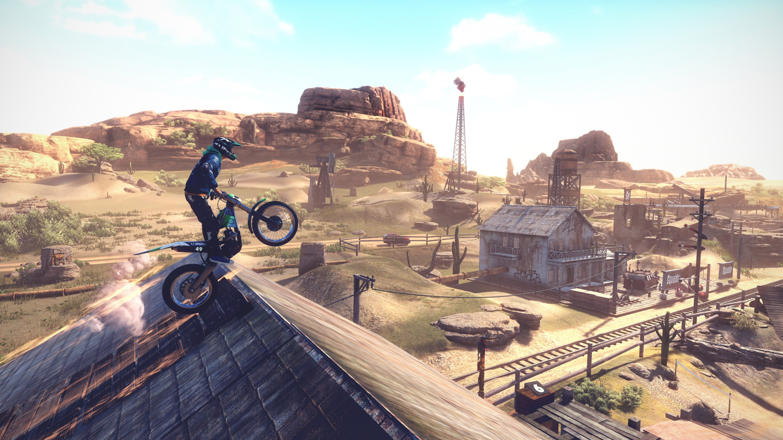 Wallpaper Trials Rising E3 2018 screenshot 4K Games 19108 2560x1440
