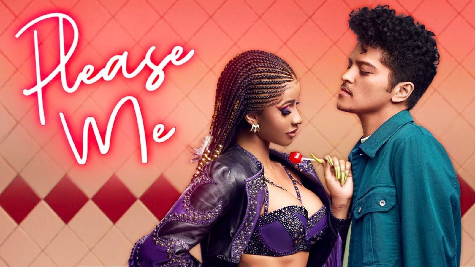 Cardi B And Bruno Mars Please Me Wallpapers 1600x900