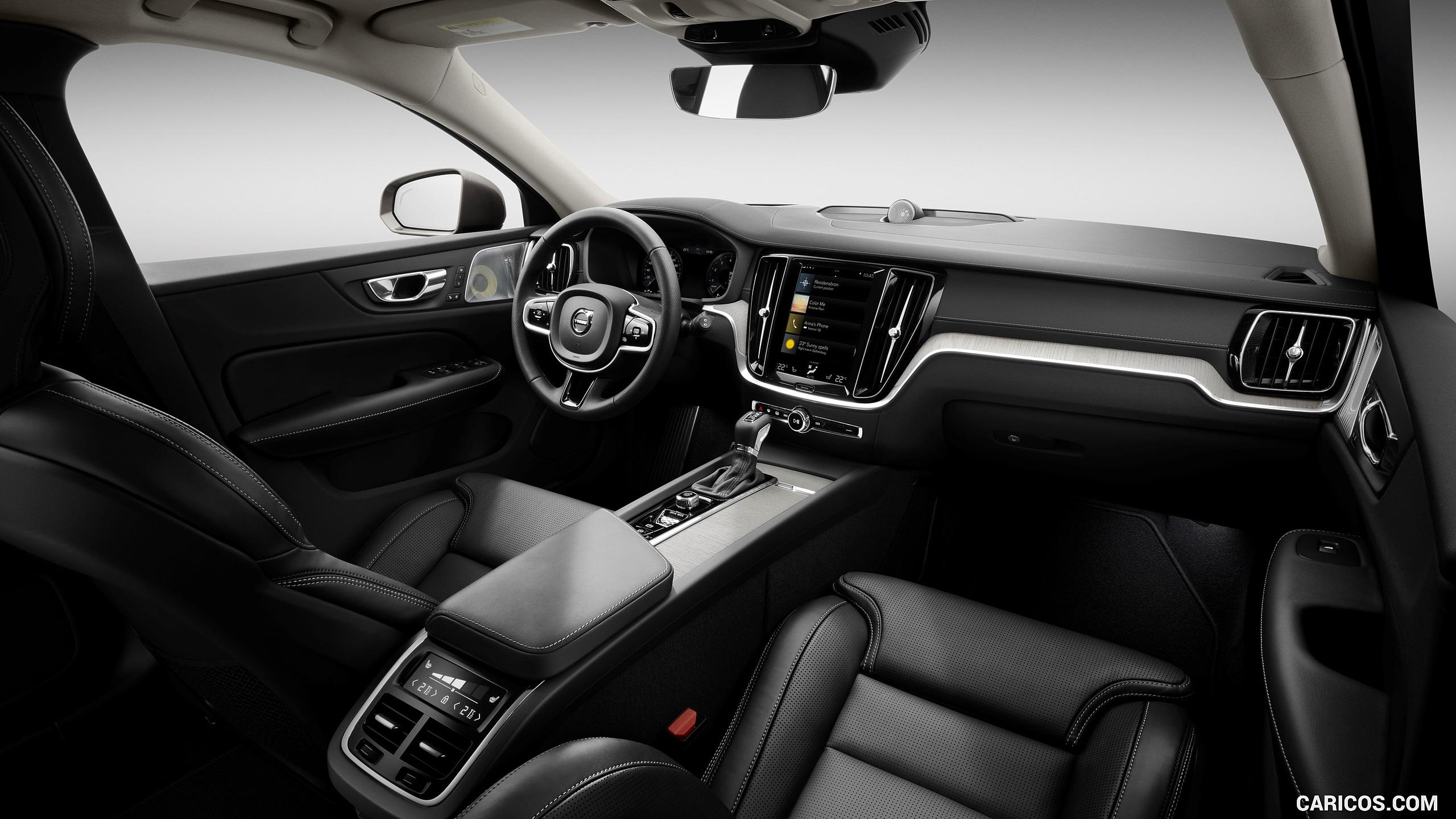 2019 Volvo V60   Interior HD Wallpaper 69 2560x1440