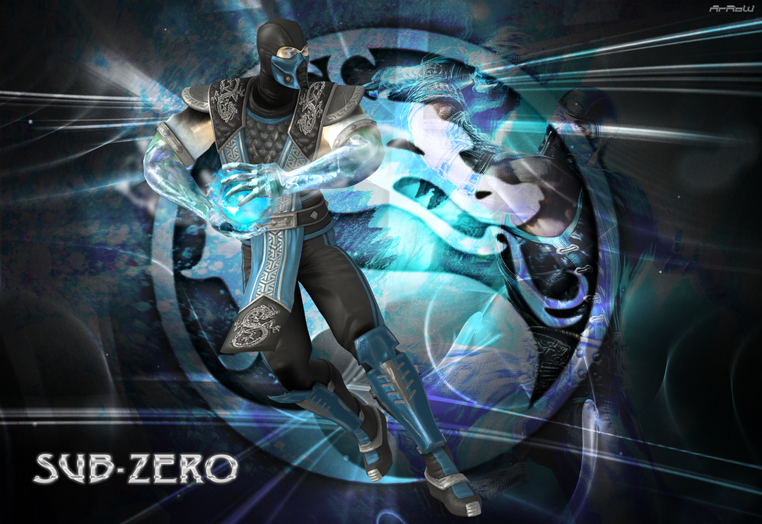 Sub Zero Wallpaper Arrow Dmjh 1078x741