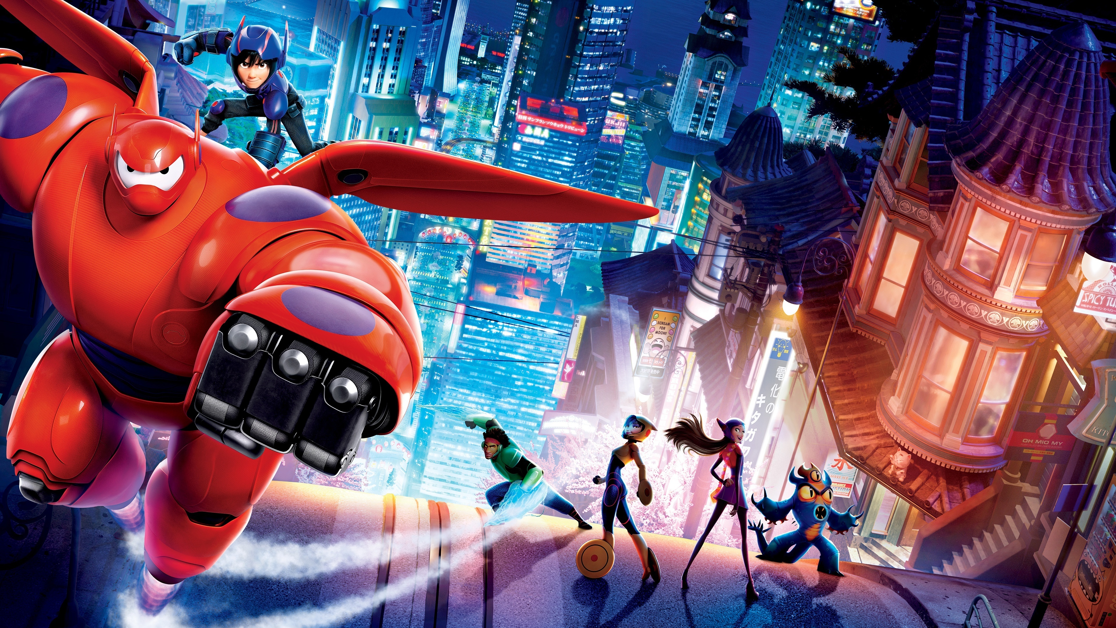 85 Big Hero 6 HD Wallpapers Background Images 3840x2160