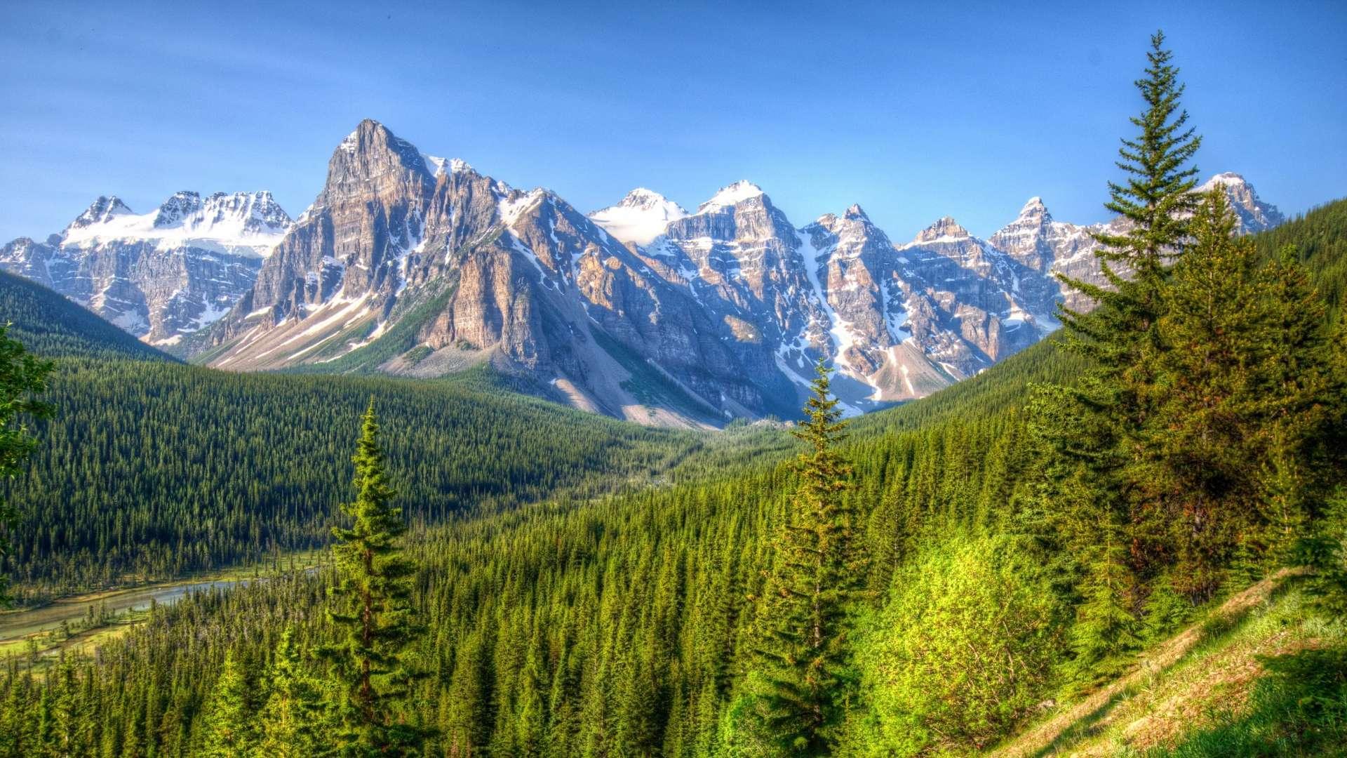 43 1080p Hd Mountain Wallpaper On Wallpapersafari