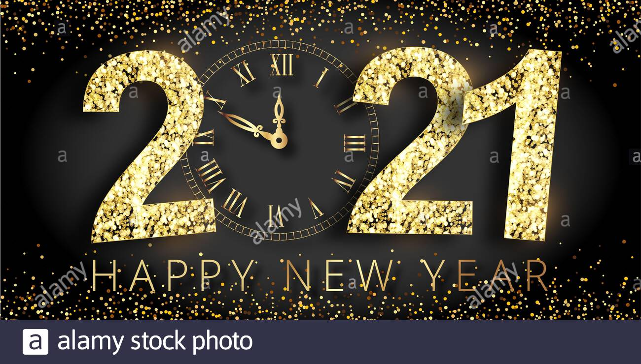 Happy New Year 2021 High Resolution Stock Photography and Images 1300x740
