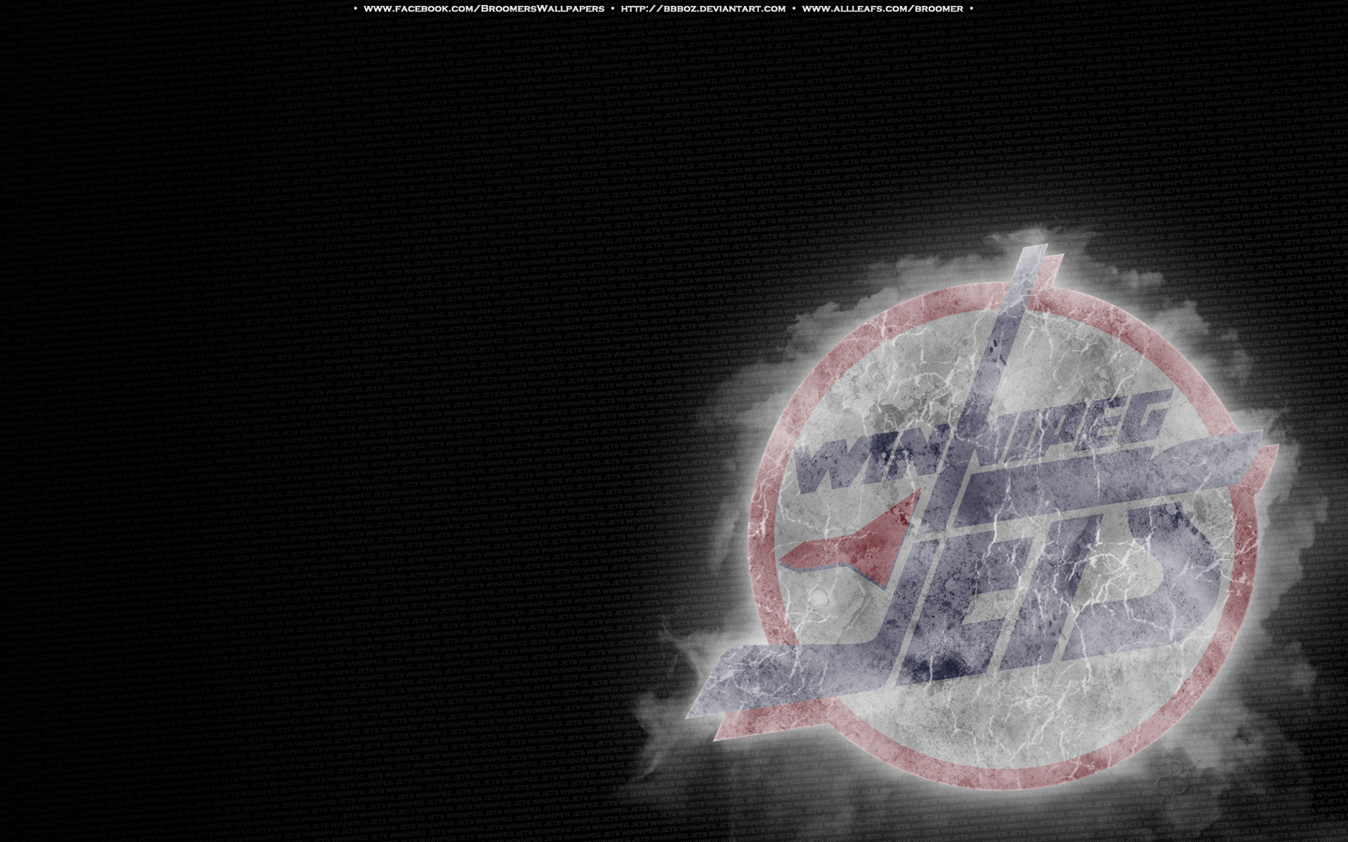 winnipeg jets retro ice by bbboz fan art wallpaper other 2011 2015 1920x1200