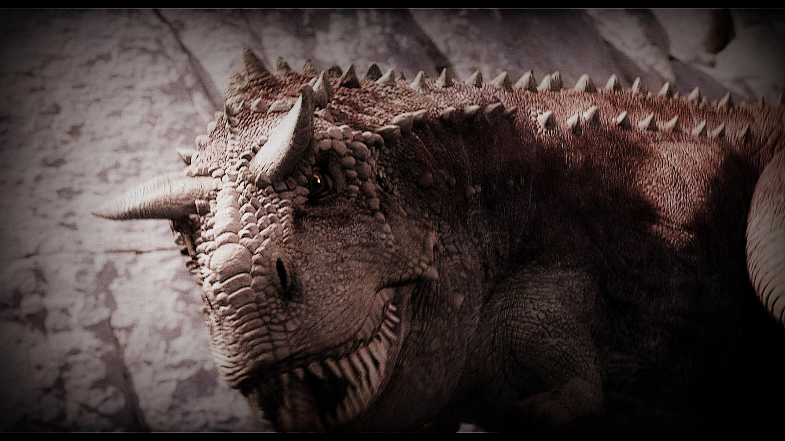 Carnotaurus Wallpaper 2 by FuhariTheLioness 1600x900