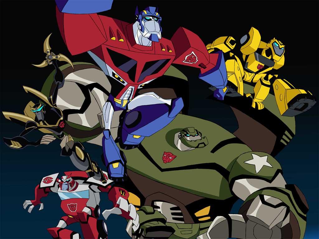 Top Cartoon Wallpapers Transformers Cartoon Wallpaper 1024x768