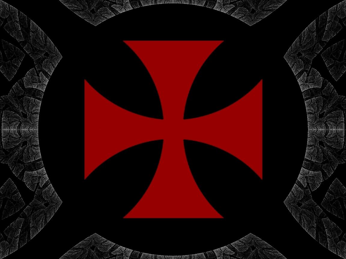 Templar Cross Wallpaper Templer by wallpaper 1152x864