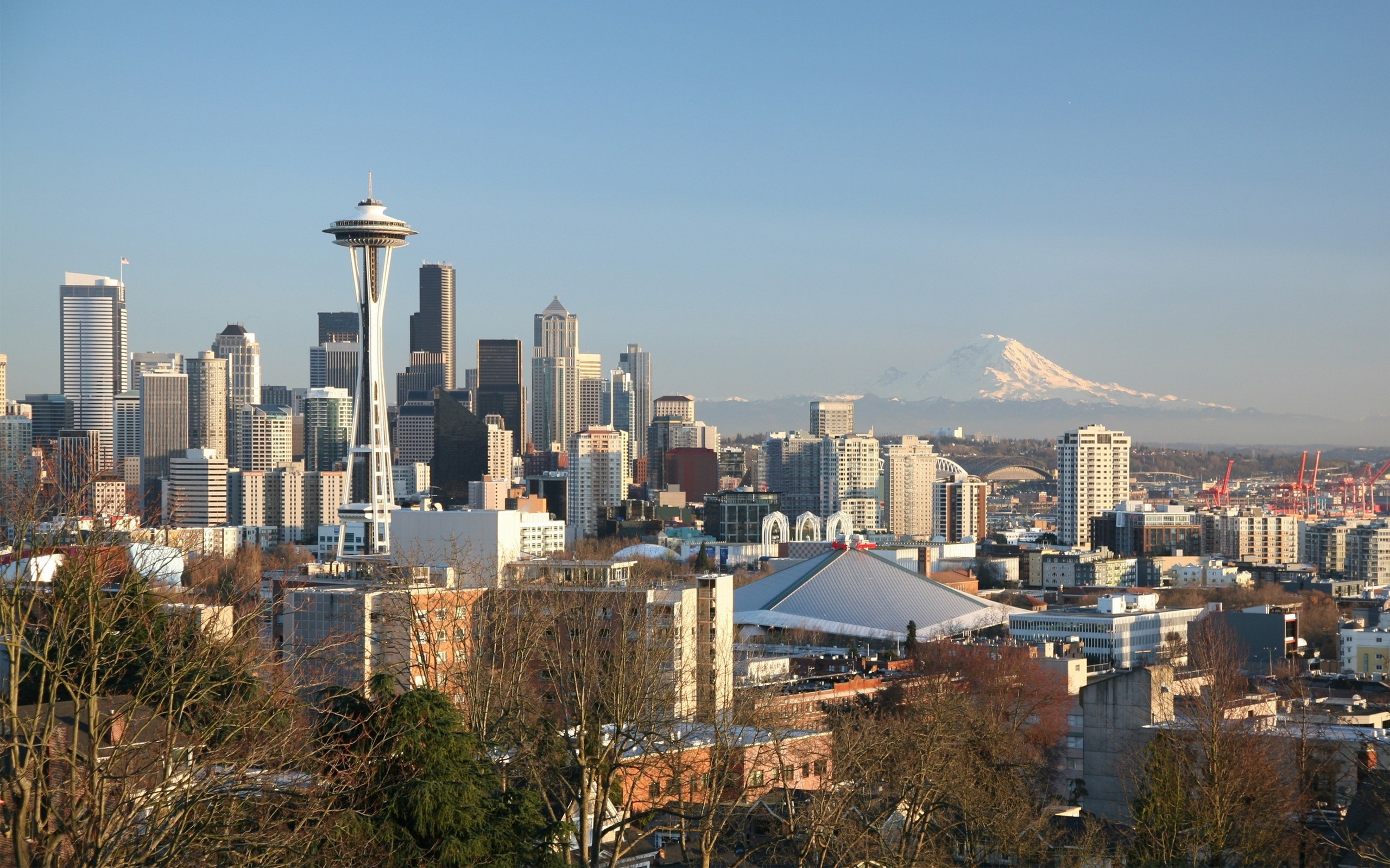 Cityscapes Seattle Wallpaper 2560x1600 Cityscapes Seattle 2560x1600