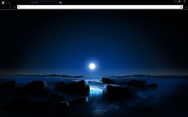 Blue Space Sunset Google Chrome theme by Everplex Media There is a 640x400