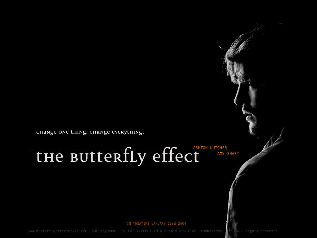 The Butterfly Effect   The Butterfly Effect Wallpaper 18262533 1024x768