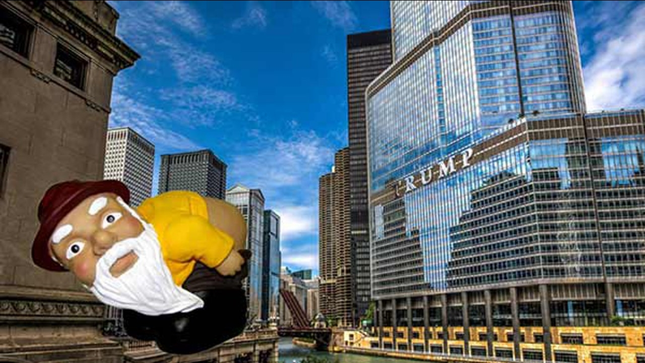 Mass mooning planned at Trump Tower in Chicago abc7chicagocom 1300x732