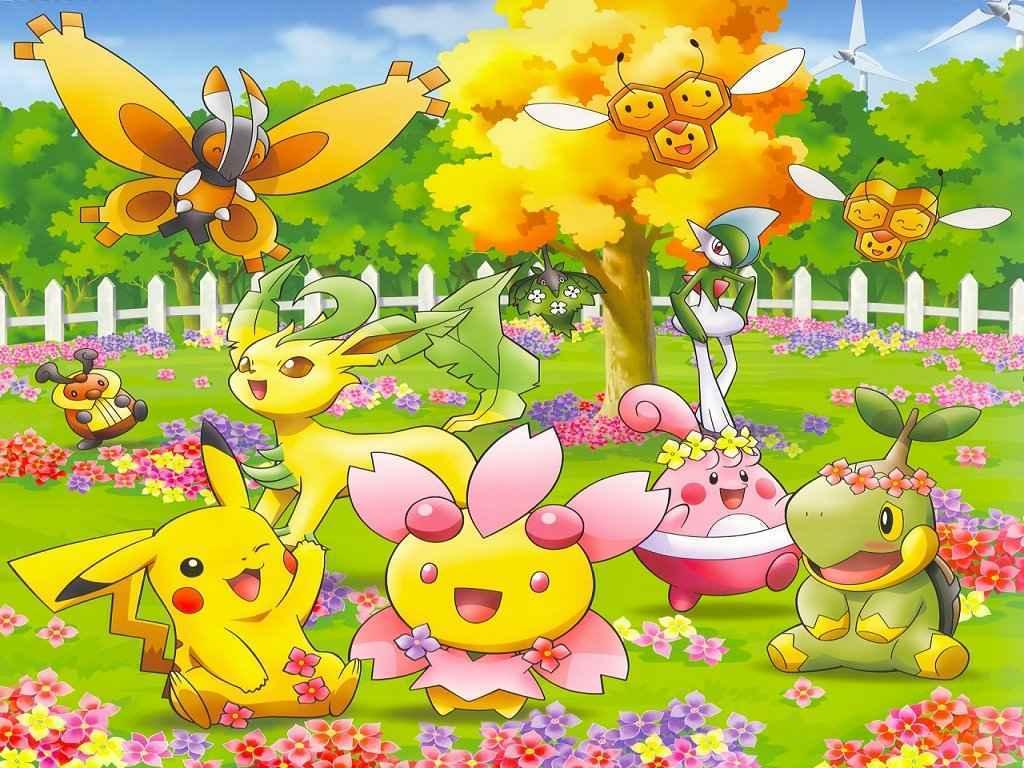 pokemon cute wallpaper wallpapersafari