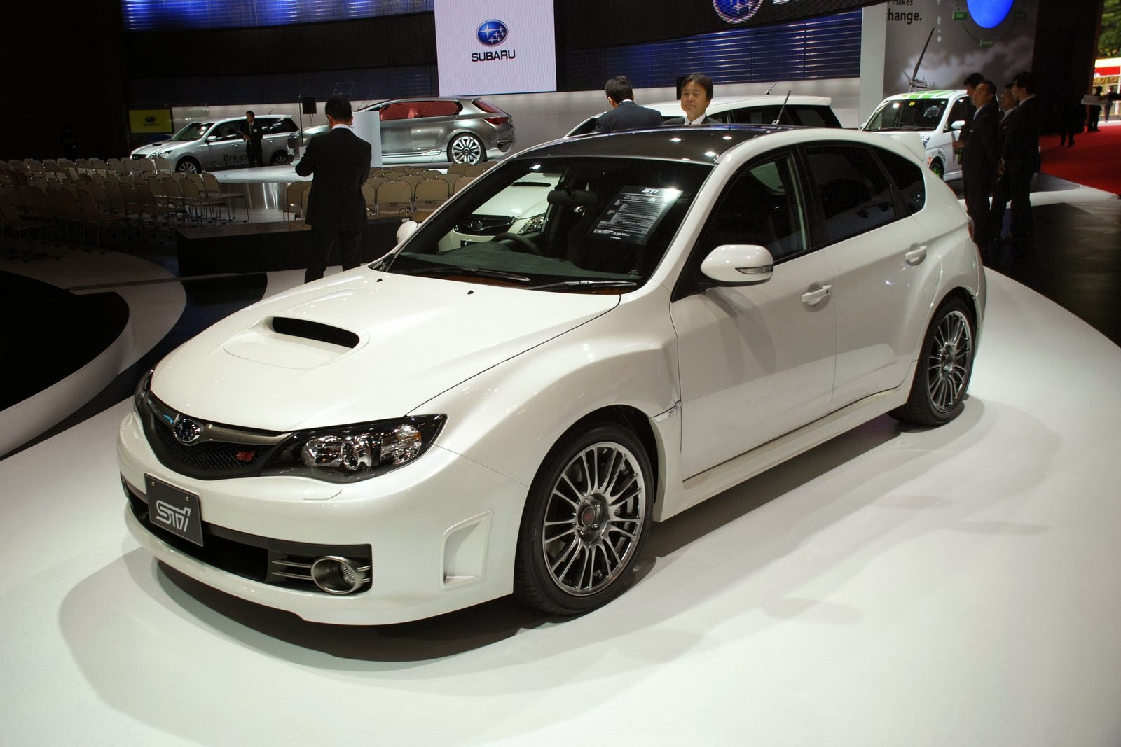 Subaru Impreza WRX STI Carbon 2014 Wallpaper 1600x1067