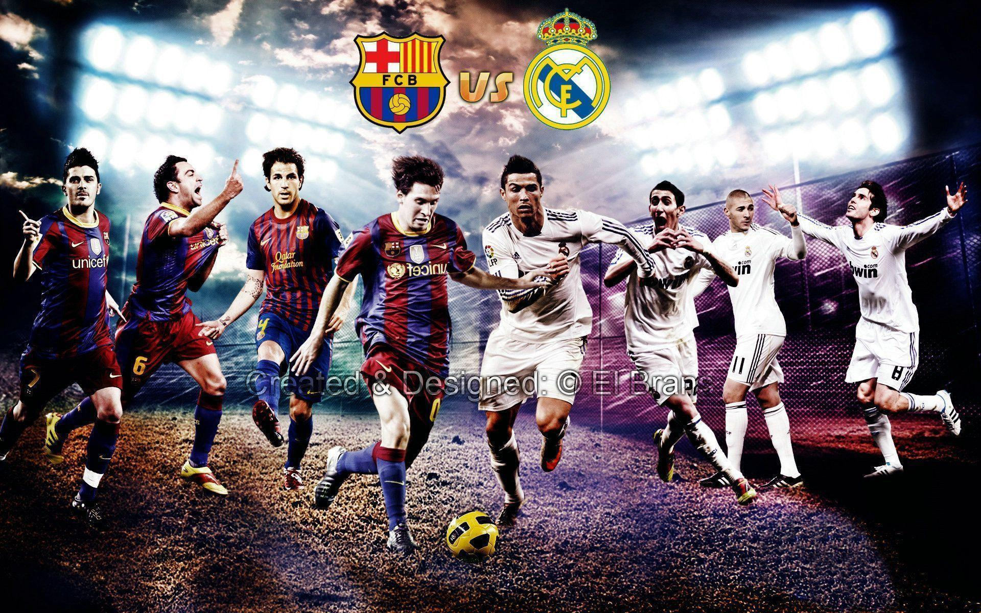 Real Madrid Vs Barcelona Wallpapers 1920x1200