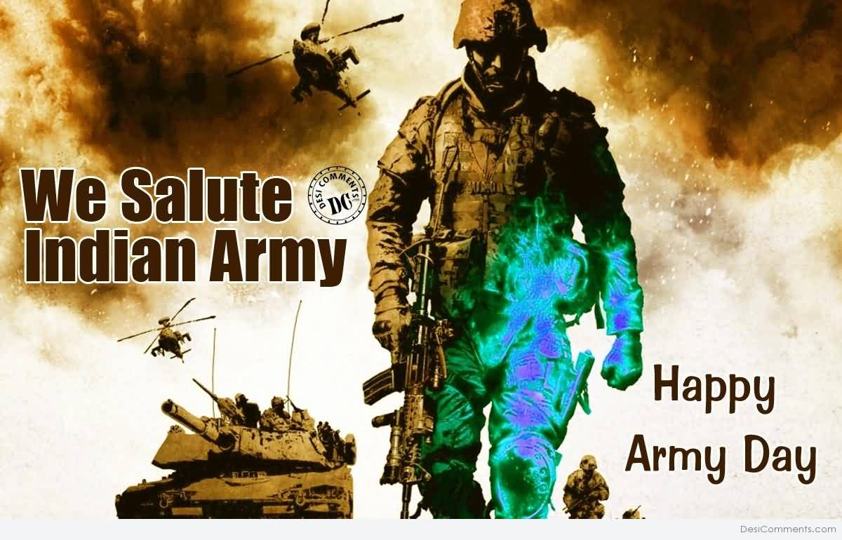 15 Best Indian Army Day Wish Pictures And Images 1200x770