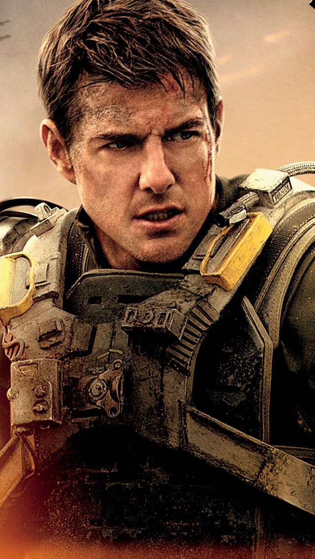 Tom Cruise In Edge Of Tomorrow   Tom Cruise In Action 1435549 640x1136