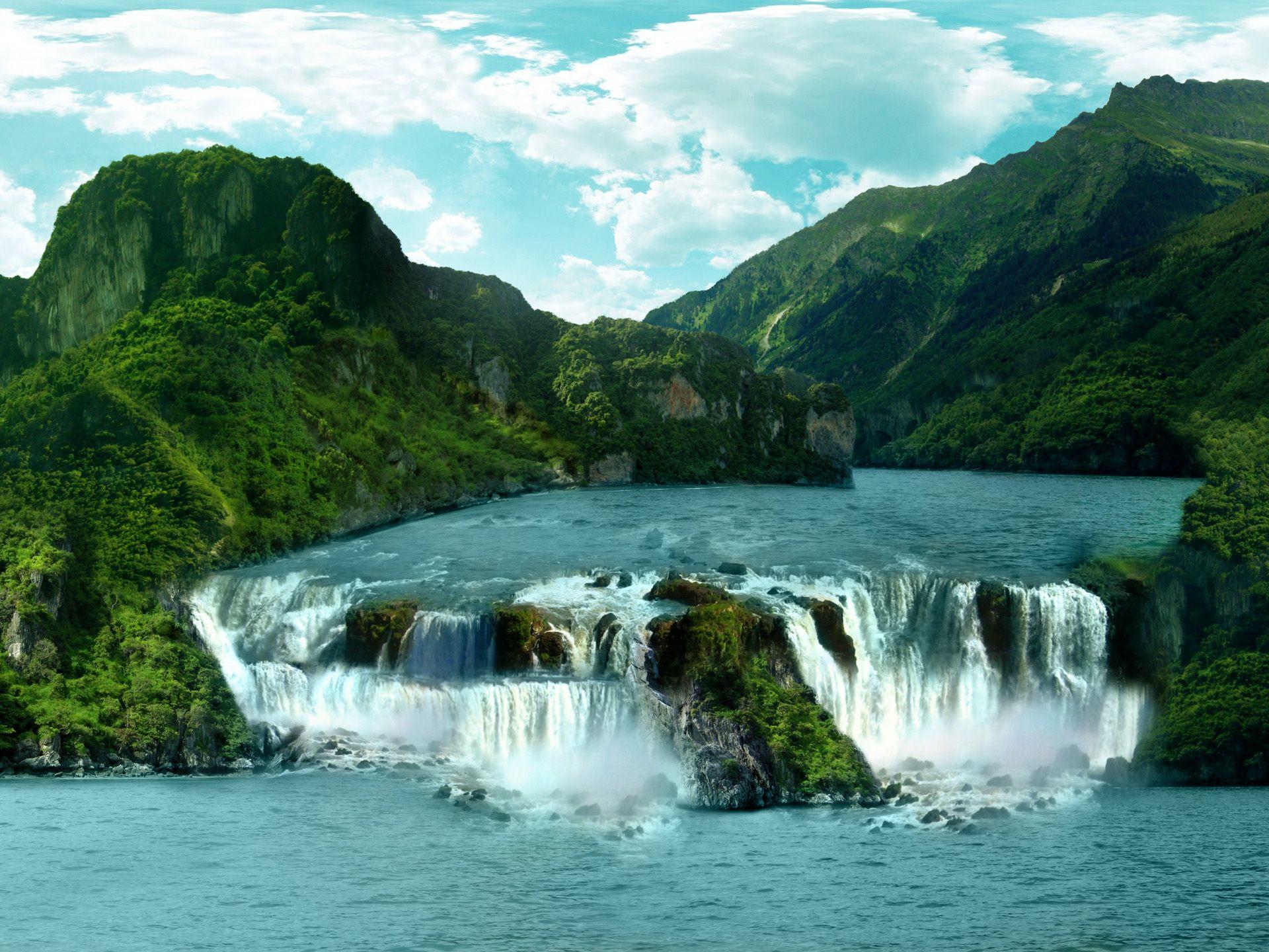 Tropical Scenery Wallpaper