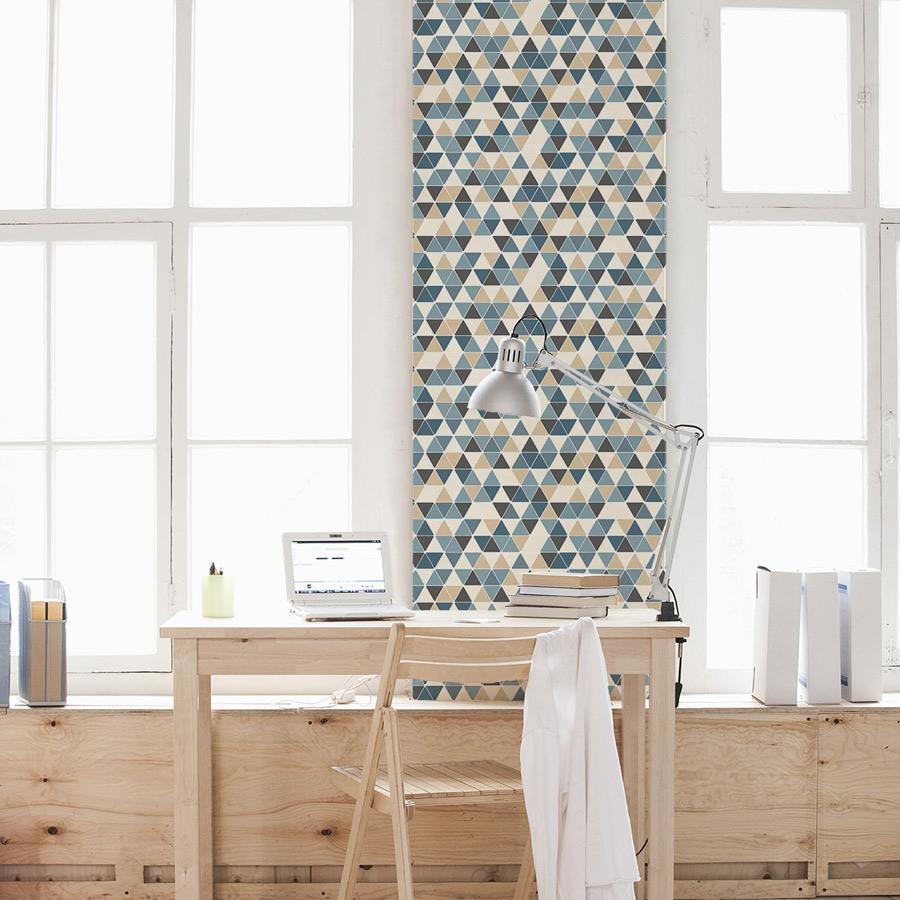 Triangle Wallpaper   Beaches Color 900x900