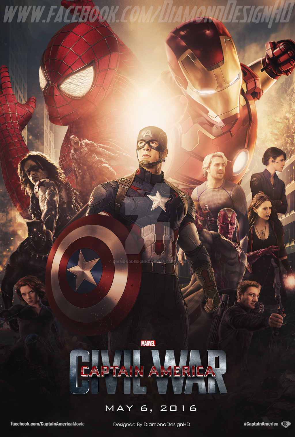 HD Images 1080p Captain America Civil War HD Wallpapers 1024x1517