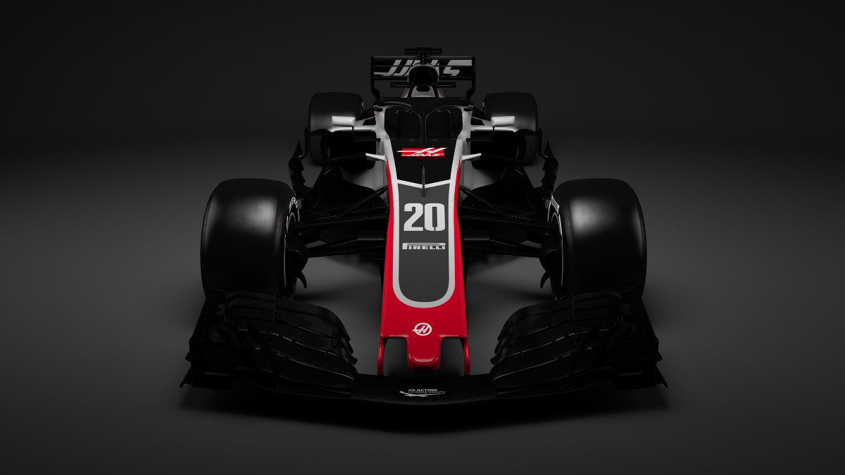 Haas F1 launch First 2018 Formula 1 car revealed   F1   Autosport 1200x675