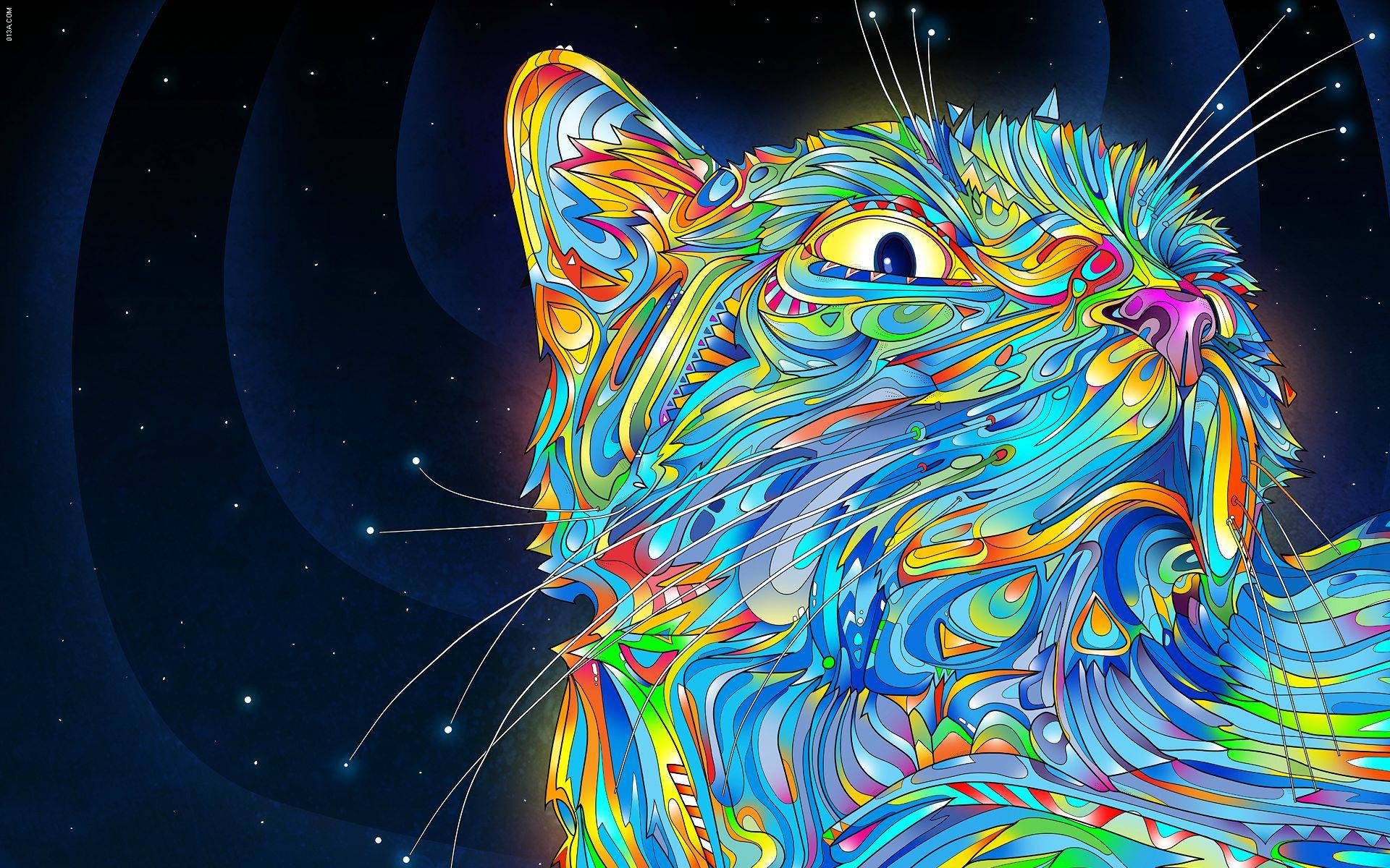 Trippy Space Wallpapers 1920x1200