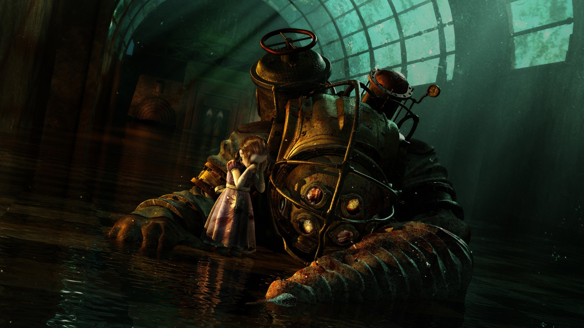 Bioshock big daddy wallpaper wallpapersafari for Big daddy s antiques