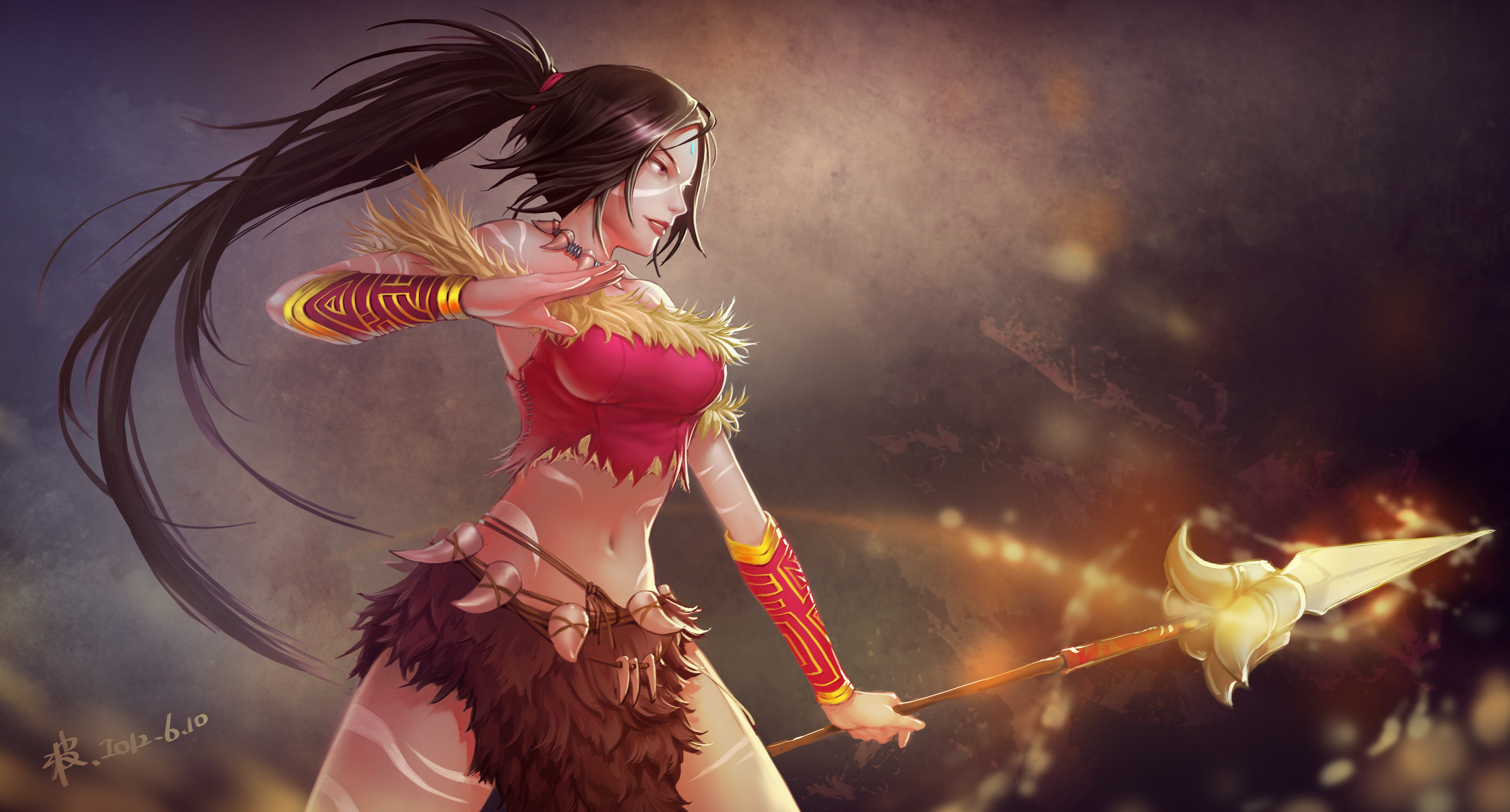 Nidalee wallpaper   ForWallpapercom 4654x2503