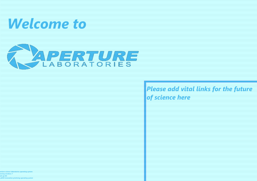 Portal desktop background by littlesparks on deviantART 900x636