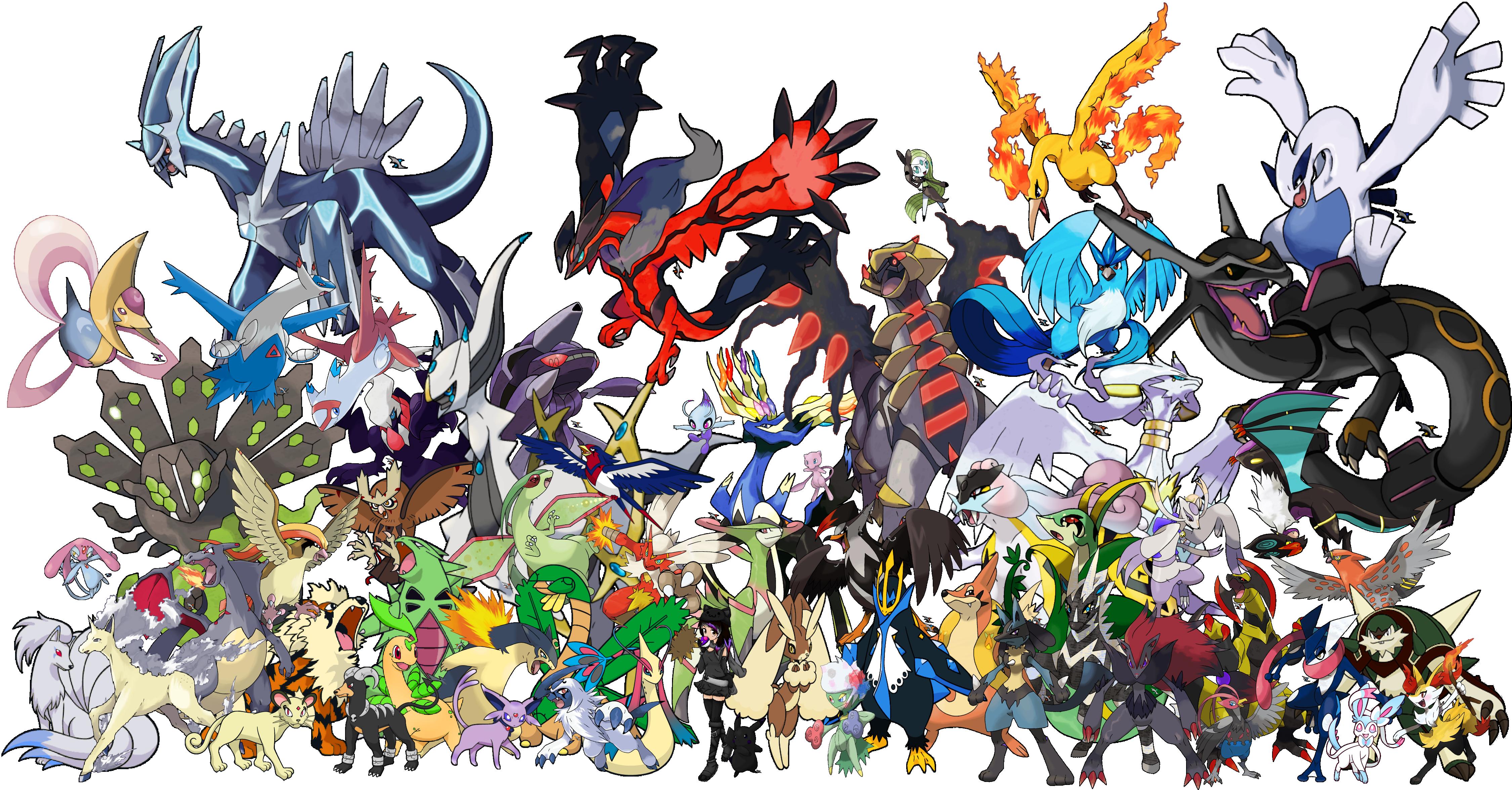 Best 48 All Shiny Legendary Pokemon Wallpaper on HipWallpaper 4500x2350