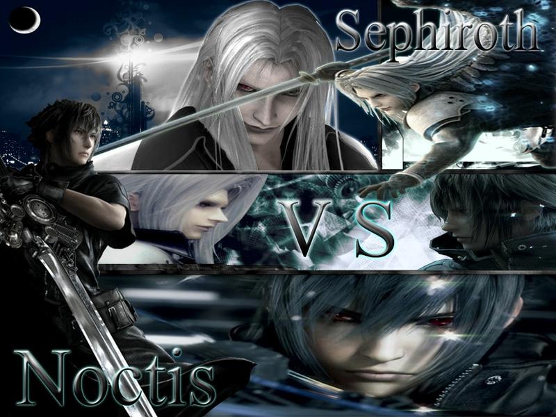 Final Fantasy Cloud Vs Sephiroth Wallpaper Vs sephiroth anime final 800x600