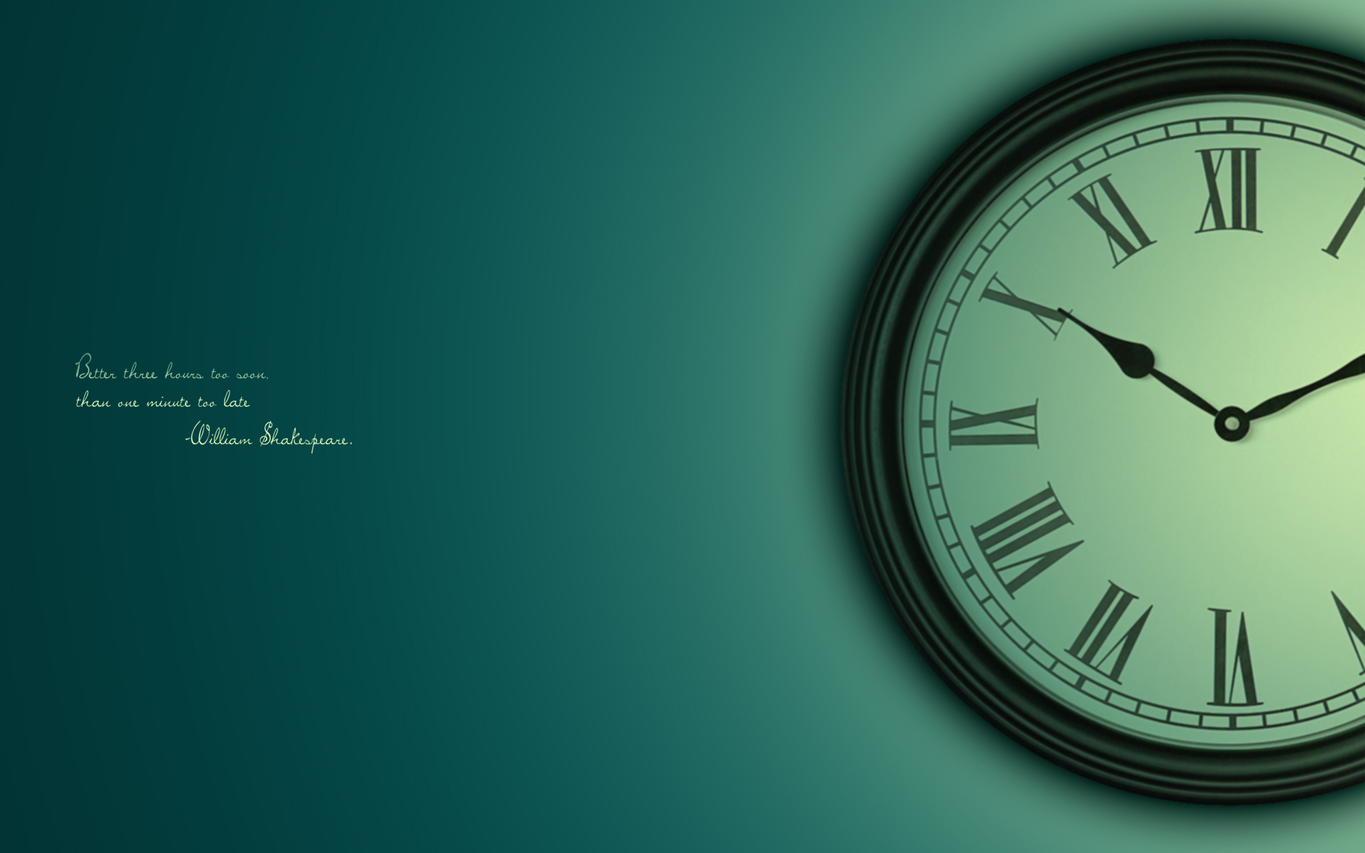 Theme Bin Blog Archive MB Clock HD Wallpaper 1920x1200