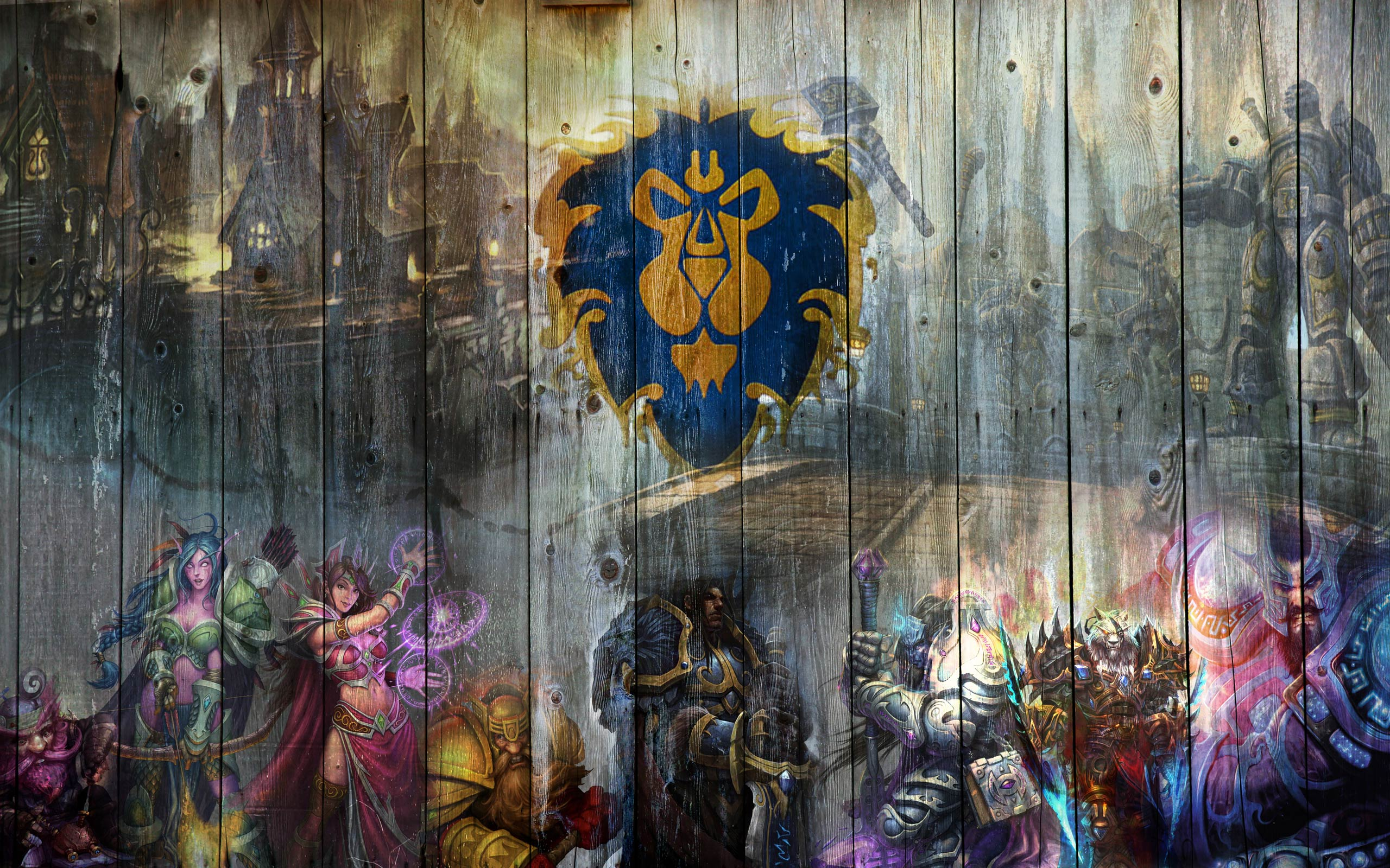 Games Wallpapers   WOW Alliance wallpaper 2560x1600