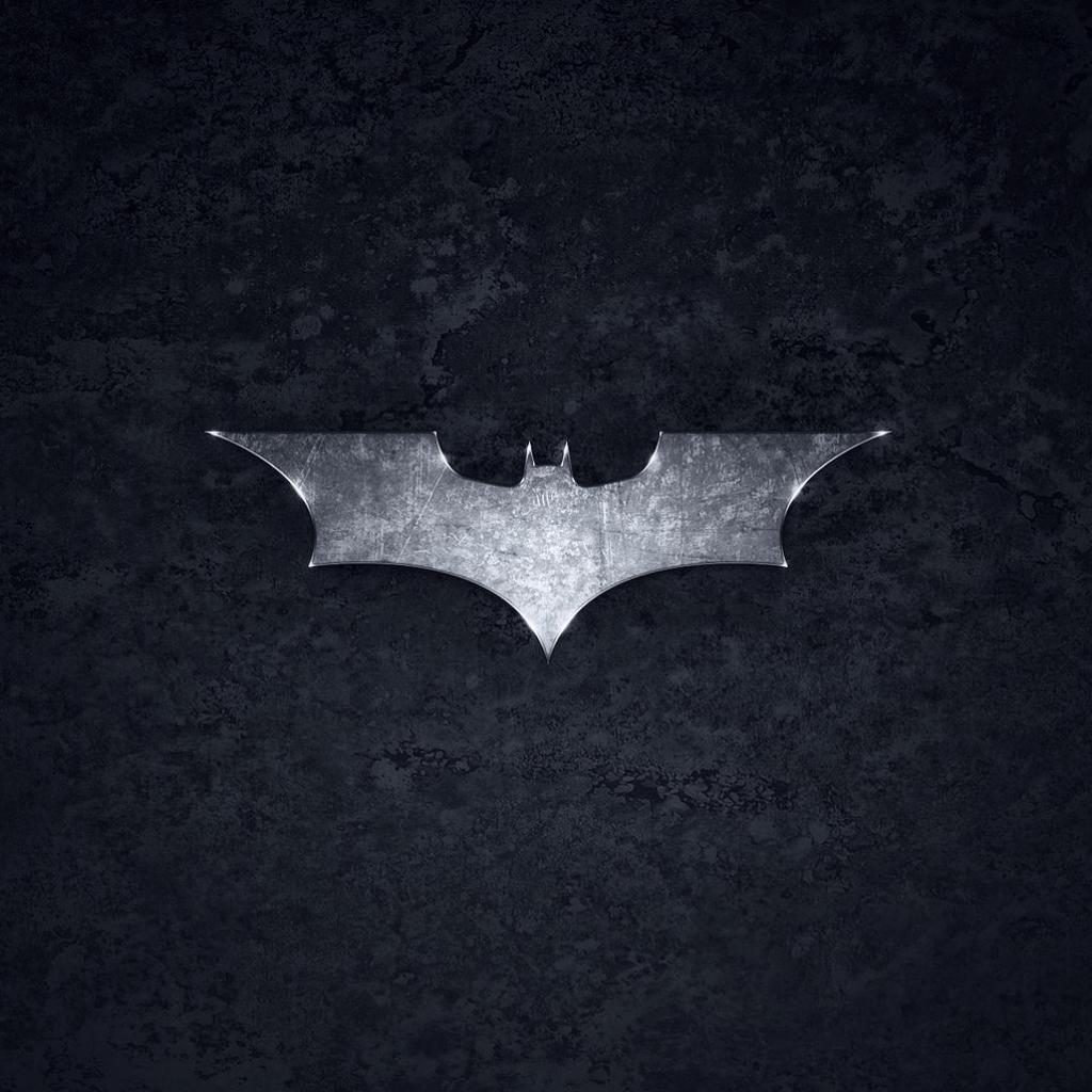 Batman Symbol   HD Tablet Wallpaper 1024x1024