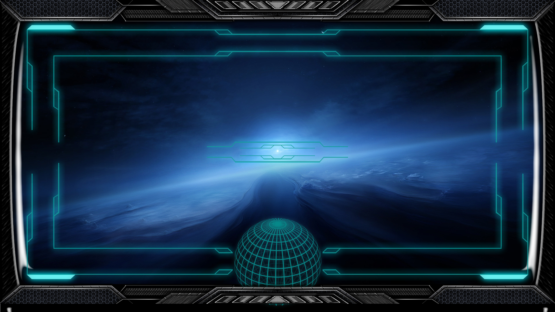 Stargate Interface Space Ship Wallpaper by exostyx 1920x1080