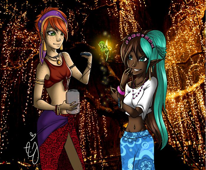 Gypsy Sisters by Ann Joanne 698x578