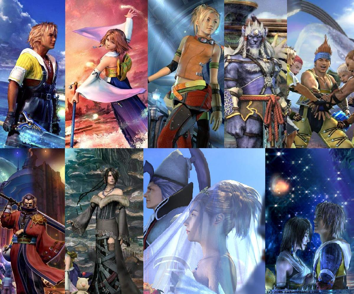 Final Fantasy X All things Final Fantasy 1200x998
