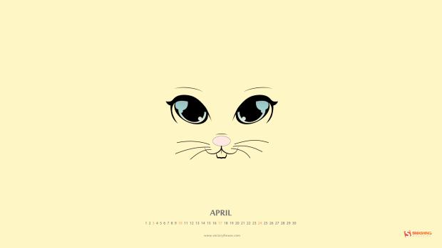 April quotes Desktop wallpaper calendar   Aprilie 2016 Touchofadream 620x349