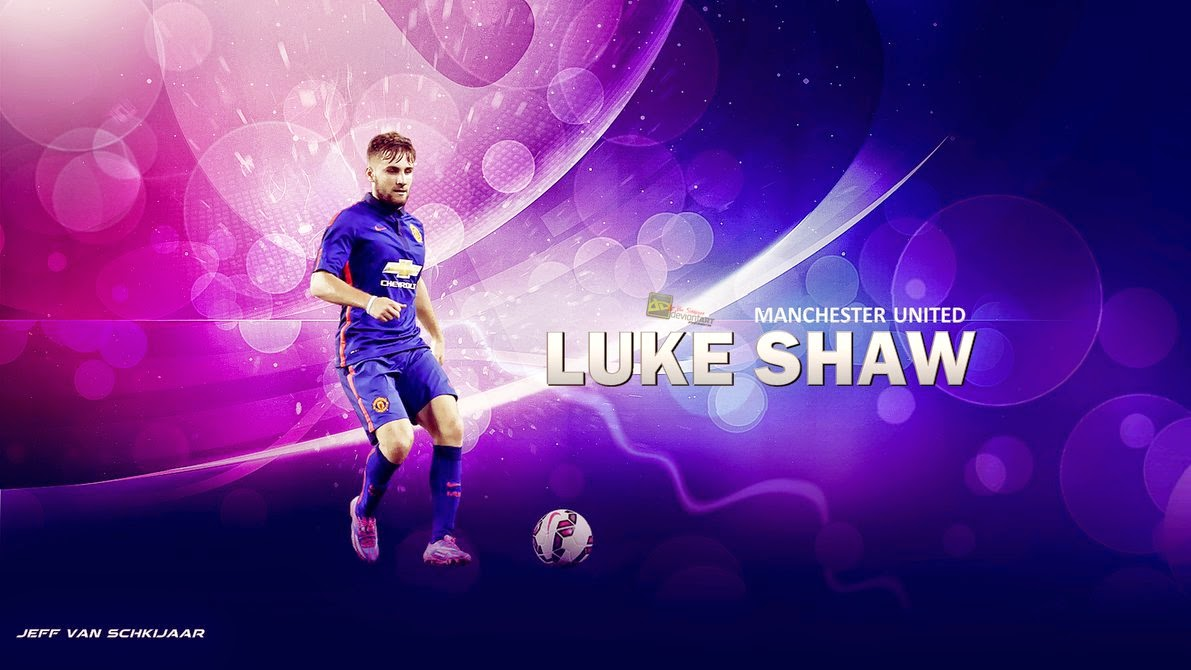 94 ] Luke Shaw Wallpapers On WallpaperSafari