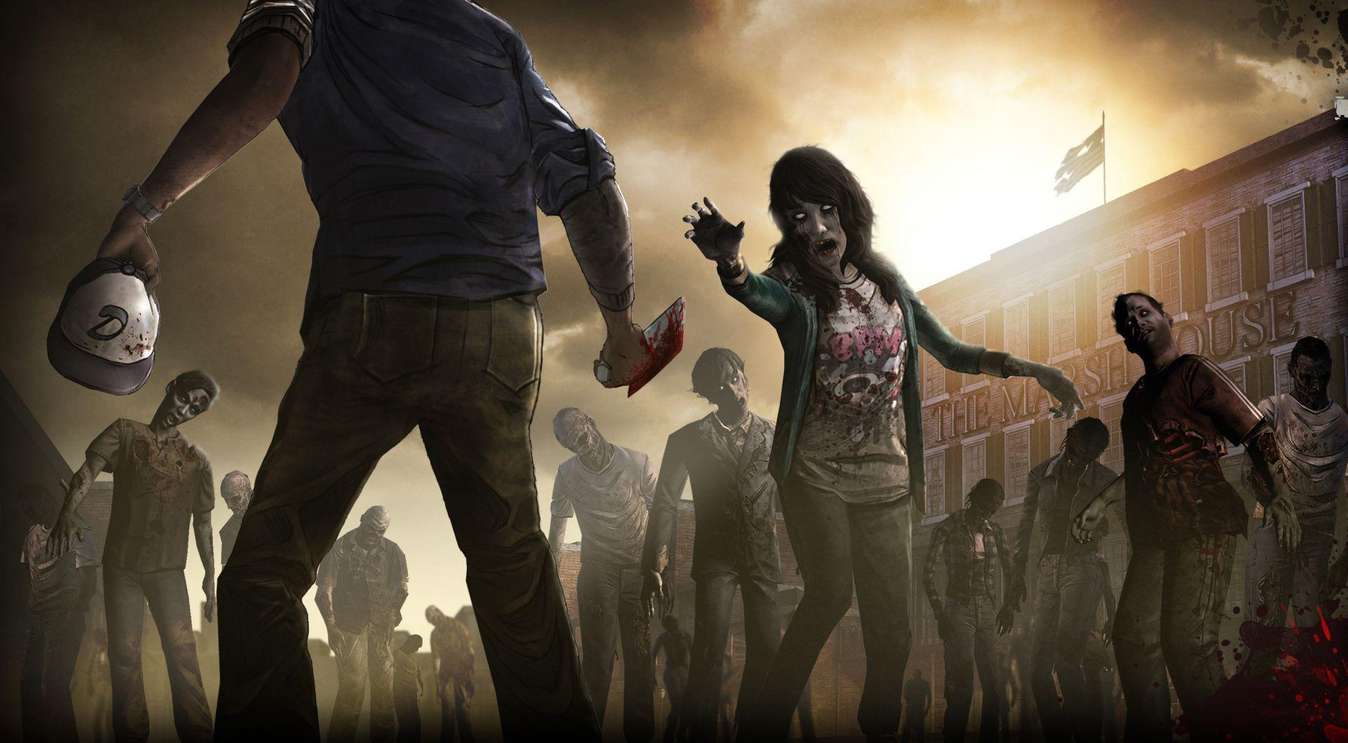 The Walking Dead Game Wallpapers 1920x1059
