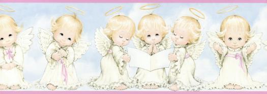 Unisex Baby Backgrounds Baby Angel Wallpaper -...
