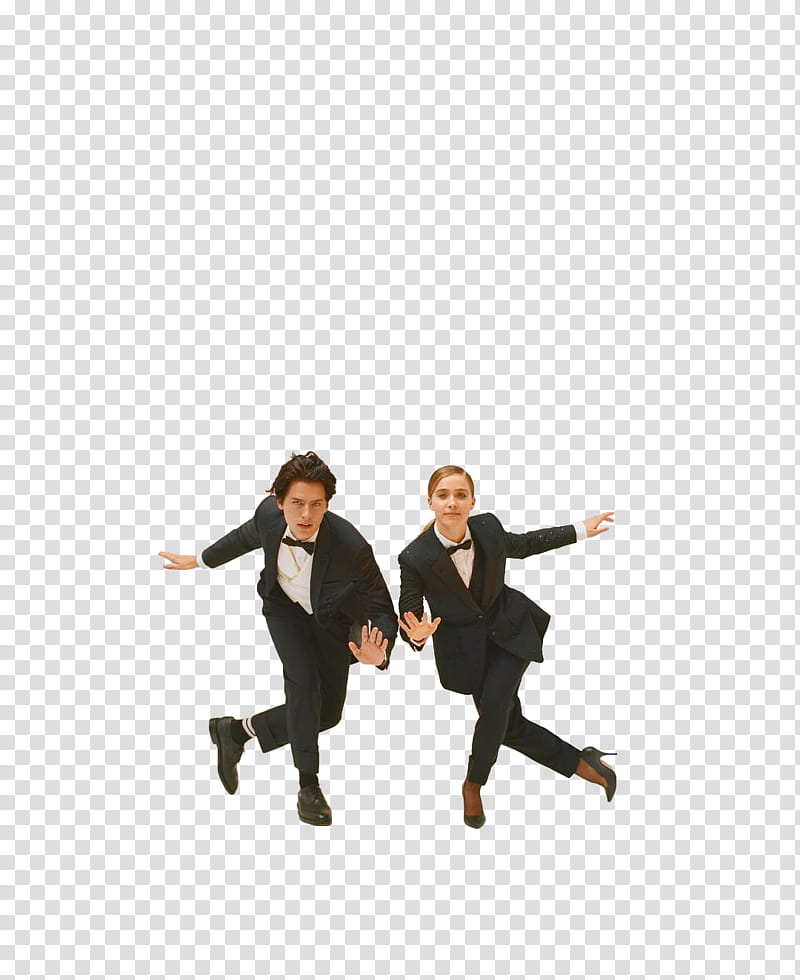 HALEY LU RICHARDSON Y COLE SPROUSE transparent background PNG 800x980