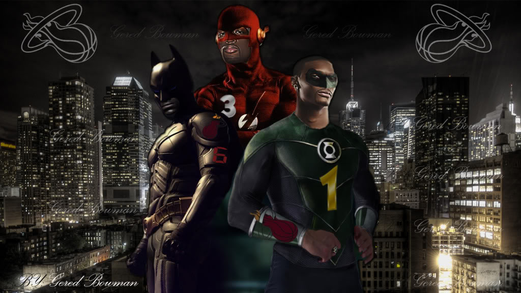 Miami Heat Justice League Background 1024x576
