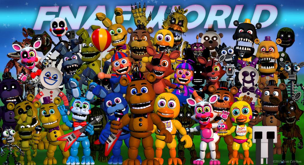 FNAF WORLD by xBrowniiex 1024x555